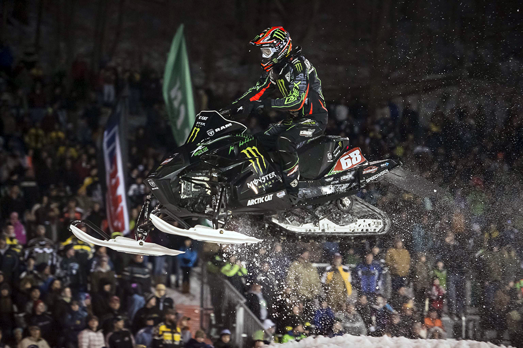 Hibbert & Scott complete sweep of AMSOIL Championship Snocross @ New York�s Seneca Allegany Casino