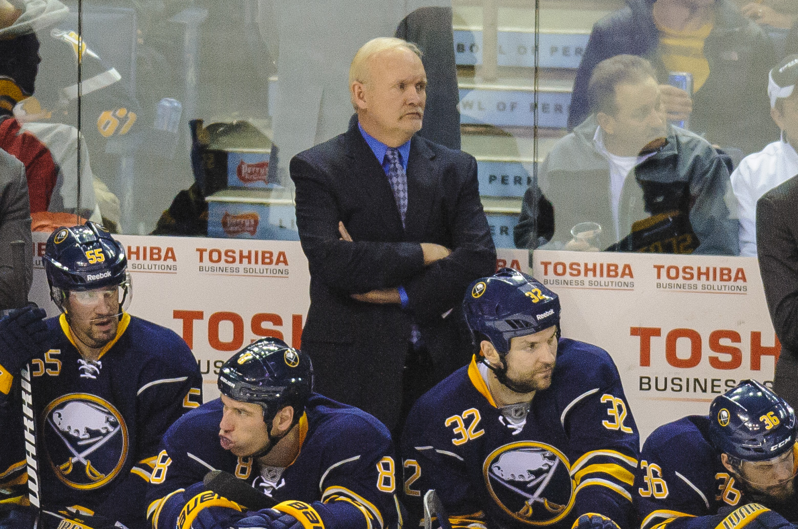 RUFF RELIEVED OF DUTIES AS SABRES' HEAD COACH; ROLSTON NAMED INTERIM COACH